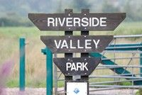 [River valley park sign]