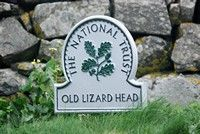 [national trust sign on walk]
