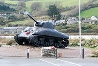 [Sherman tank at Torcross]